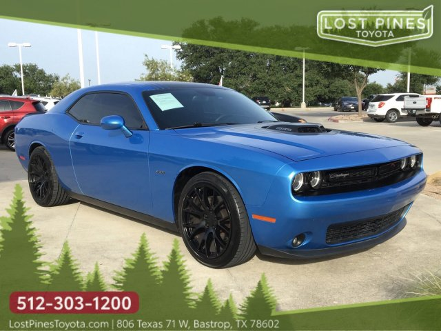 Challenger Shaker For Sale >> Pre Owned 2015 Dodge Challenger R T Shaker Rwd 2d Coupe