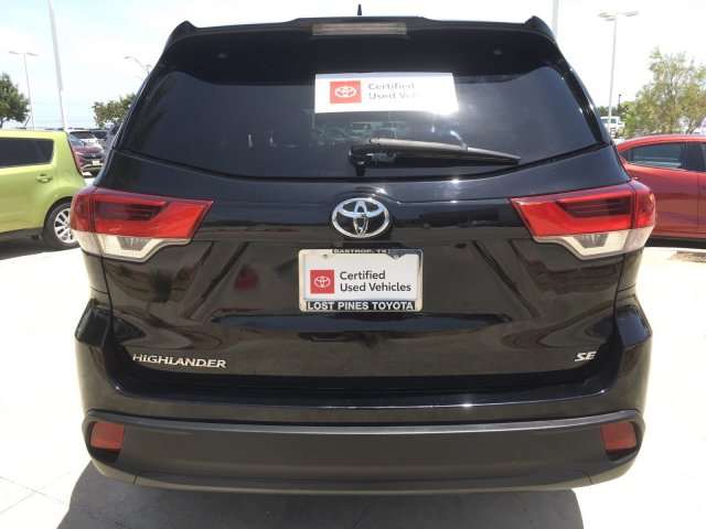 Certified Pre-Owned 2017 Toyota Highlander SPT